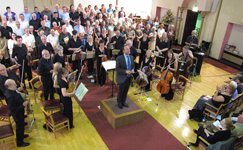 Accompanying Chesterfield Philharmonic Choir